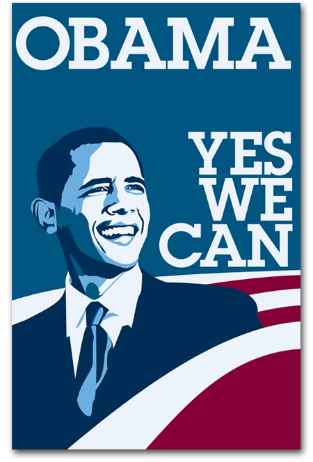 barack obama yes we can Yes we can by barack obama in obama's campaign speech presented on january 8th 2008 there are continuous techniques that he uses to persuade the audience to vote for him.