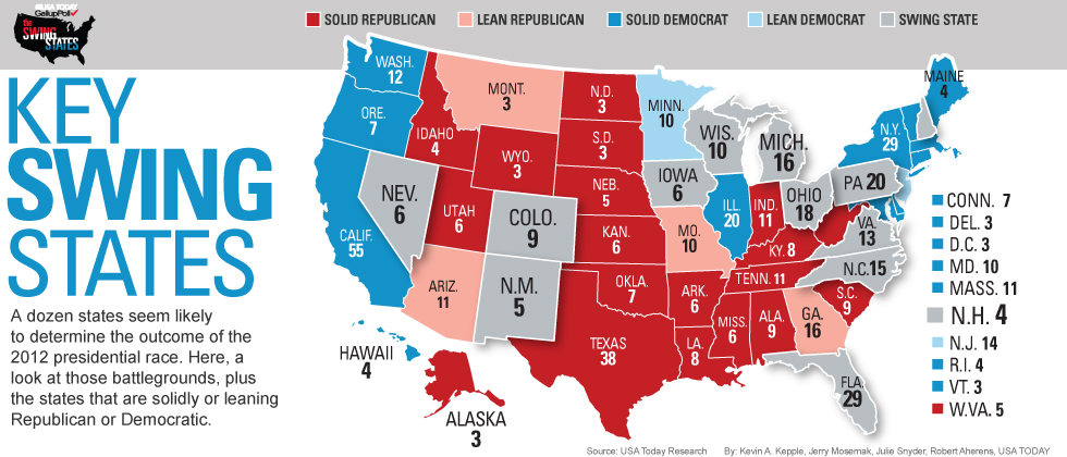Final Electoral College Map Business Insider Astrology And