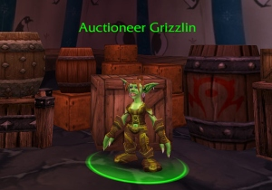 World of Warcraft Auctioneer